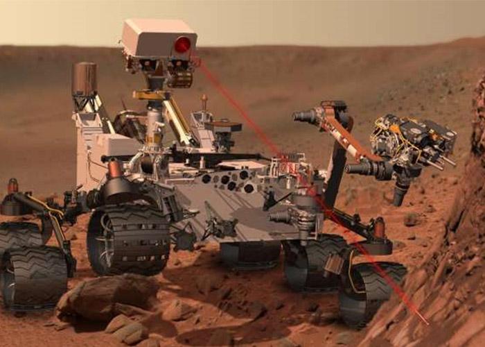 مریخ نورد ناسا AEGIS
