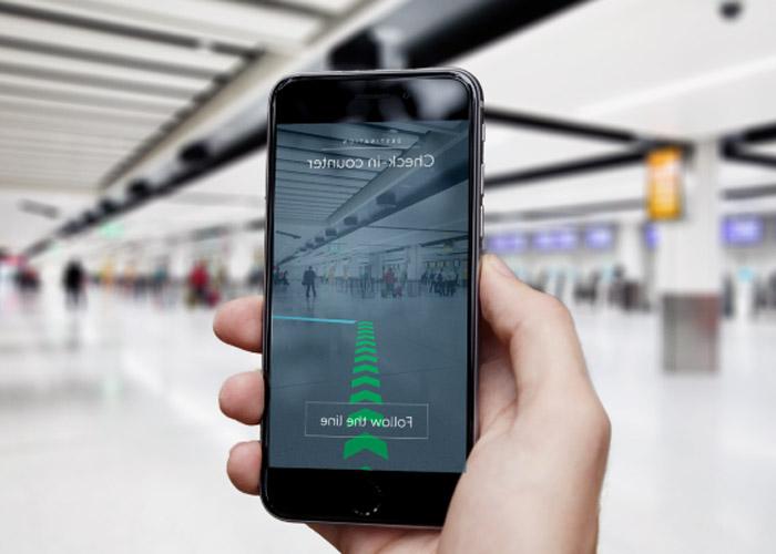 واقعیت افزوده در فرودگاه / augmented reality in airport