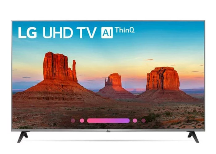 LG Class 4K Smart UHD TV with AI ThinQ
