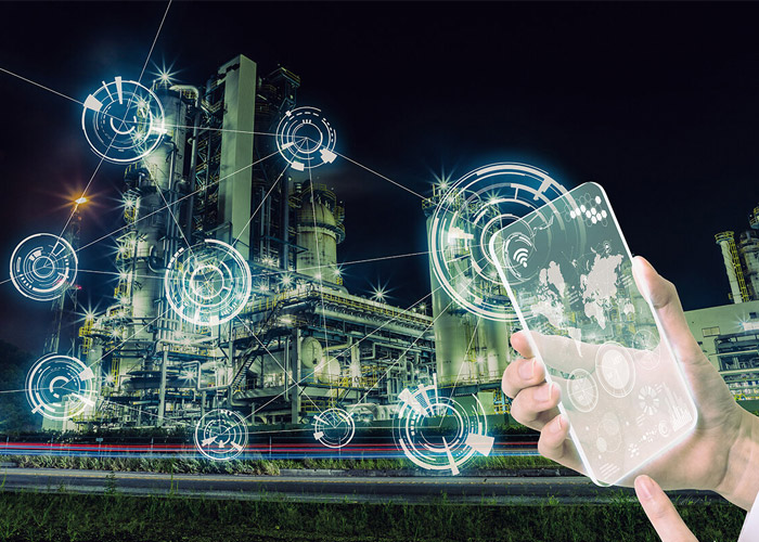 اینترنت اشیا صنعتی / industrialized internet of things