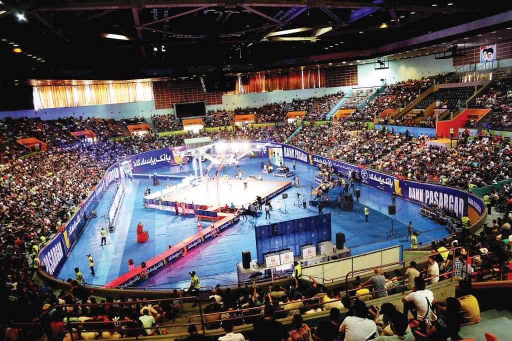 یلدا کارآفرینی - ورزشگاه آزادی / yalda Azadi stadium