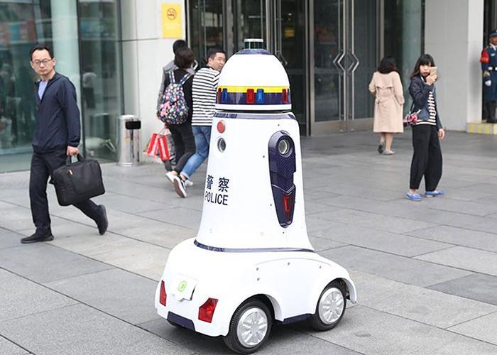 ربات پلیس هوش مصنوعی / ai police robot