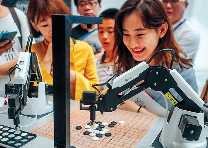 بازوی رباتیک هوشمند / smart robotic arm