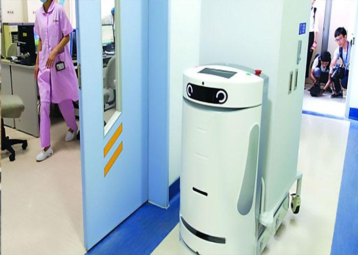 رباتها و کرونا/robots and corona-virus