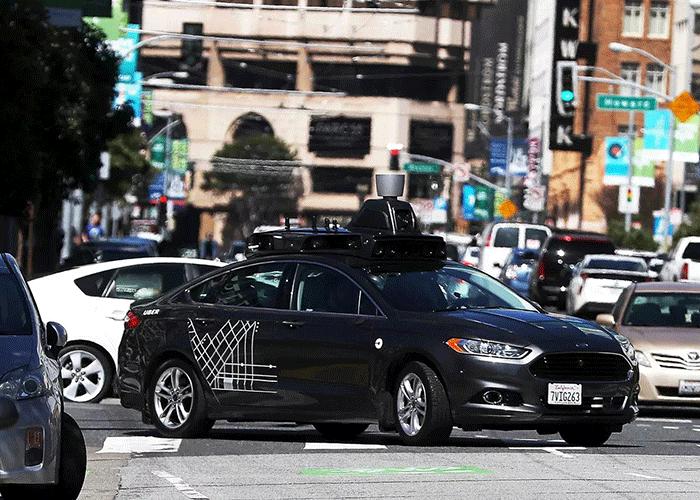 خودرو خودران اوبر / uber self driving car