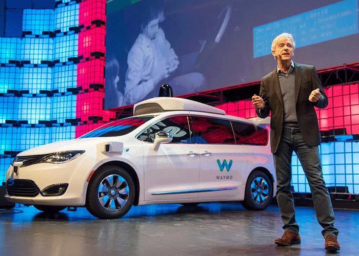 خودرو خودران وایمو / waymo self driving car