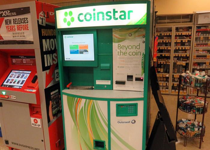 دستگاه coinstar / coinstar
