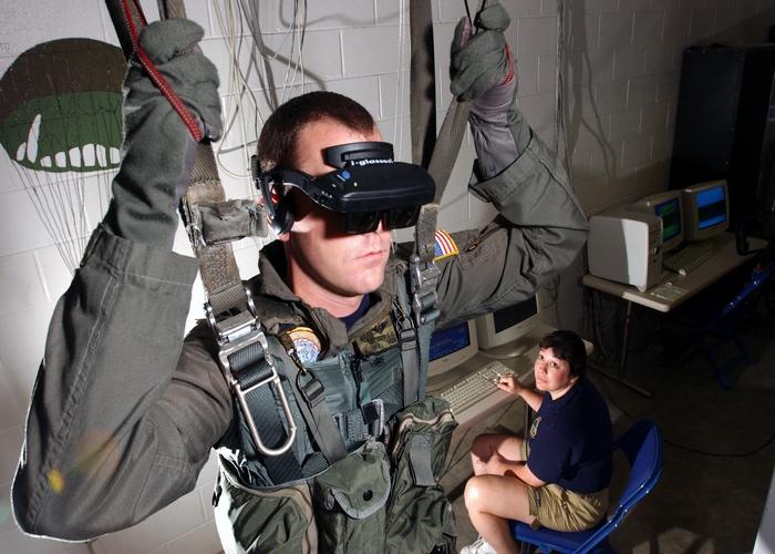 یادگیری با واقعیت مجازی/learning with virtual reality