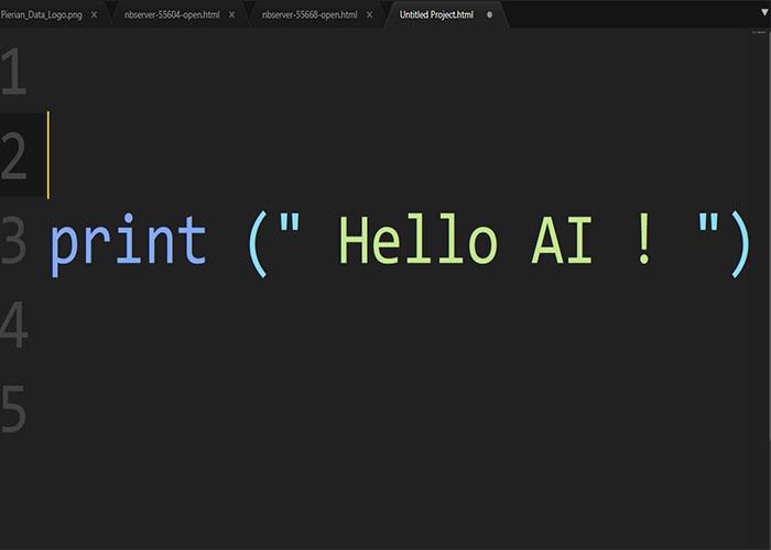 برنامه نویسی هوش مصنوعی / AI programming