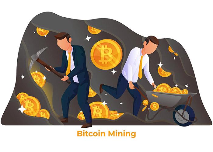استخراج بیت کوین / bitcoin mining