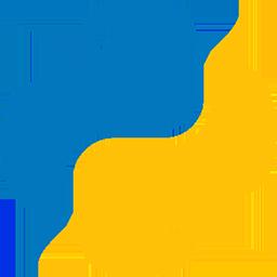 لوگو پایتون / python logo