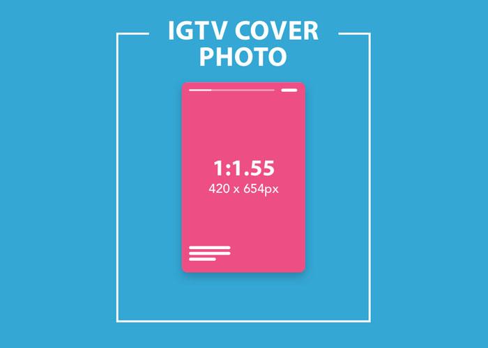 سایز کاور آیجیتیوی/IGTV Cover size
