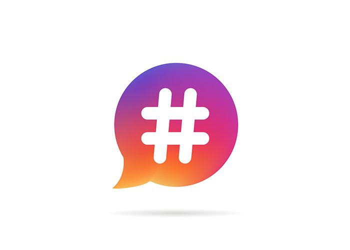 هشتگ اینستاگرام/Instagram hashtag