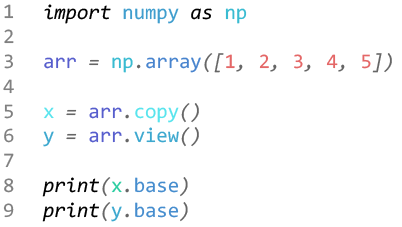 آموزش کتابخانه نامپای / numpy learning