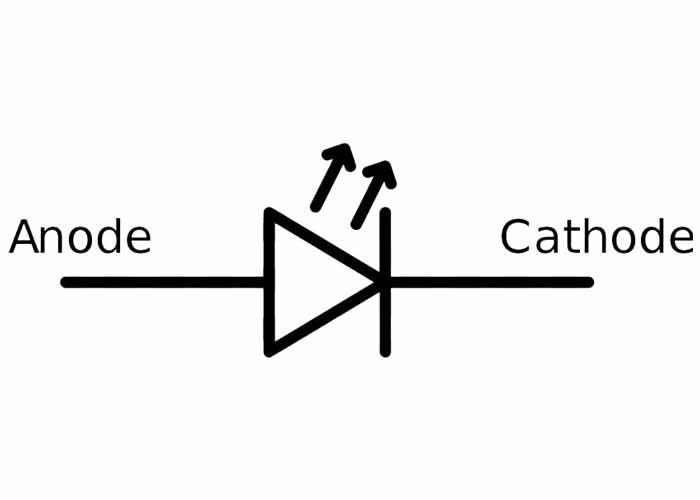 شماتیک LED | led symbol