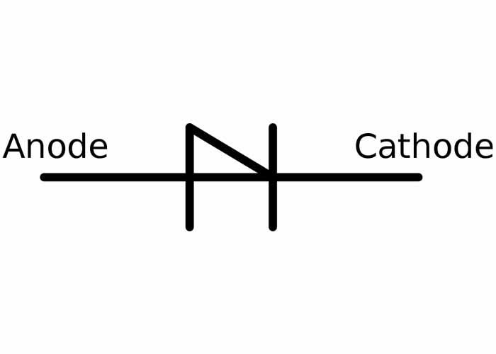 شماتیک دیود شاکلی | schockley diode