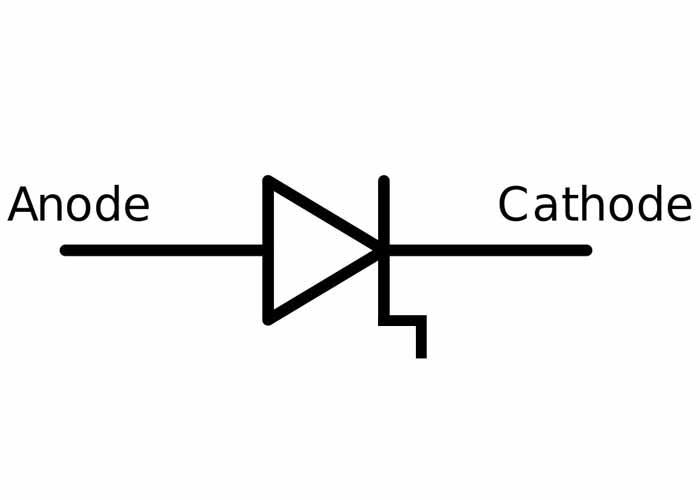 شماتیک دیود بازسازی پلهای | step diode