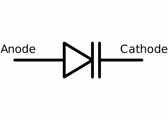 شماتیک دیود خازنی | varactor diode