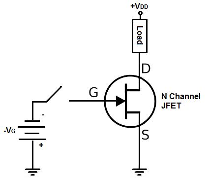 شماتیک کانال منفی | N-channel Schematics