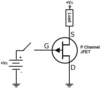 شماتیک کانال مثبت | P-channel Schematics
