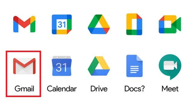 برنامه جیمیل/ Gmail app